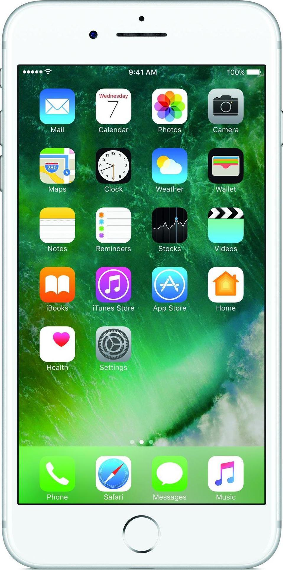 Apple iPhone 7 Plus, srebrny