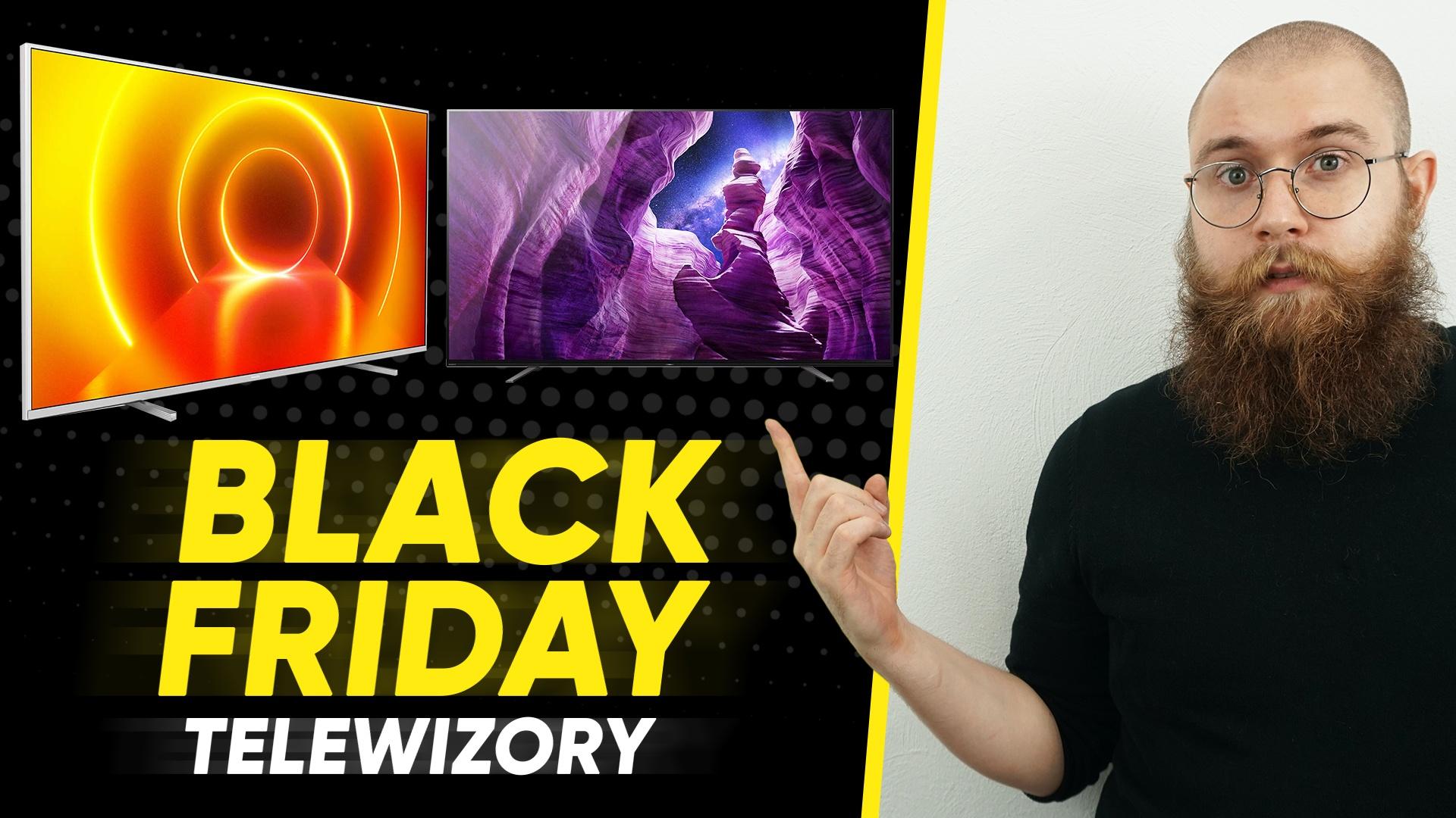 Telewizory w Media Expert na Black Friday