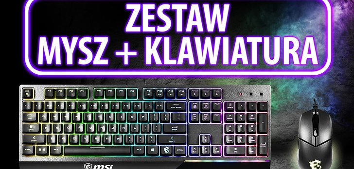 Test MSI GK30 Combo - Mysz i klawiatura z RGB
