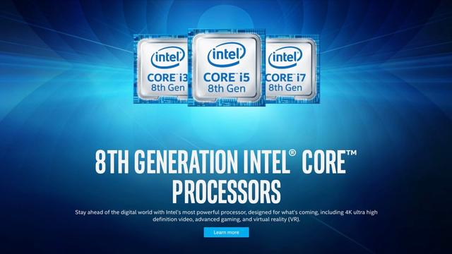 Ósma generacja procesorów Intel to wysoka moc i wydajność.