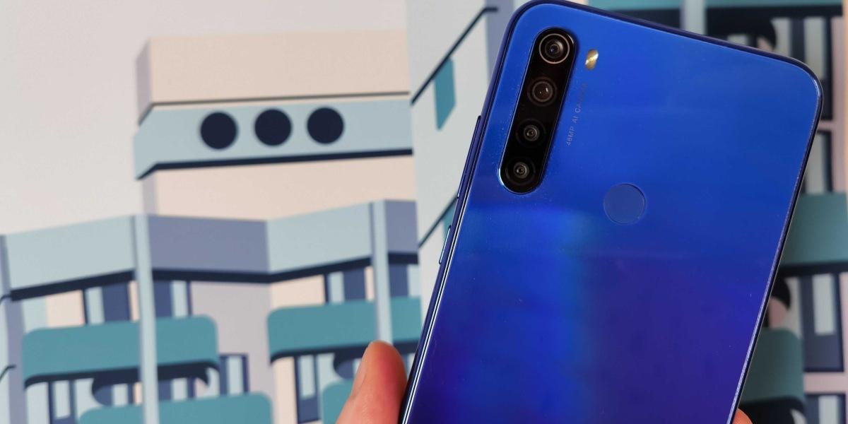Redmi Note 8T to smartfon wykonany na wysoki połysk