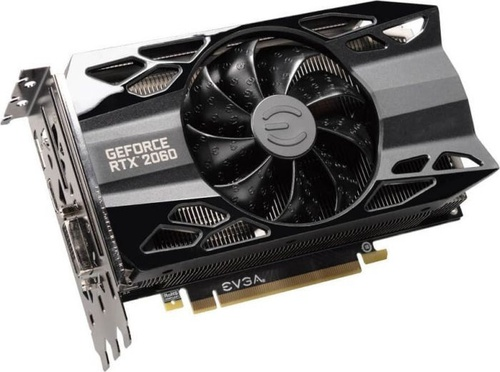 EVGA GeForce RTX 2060 XC BLACK 6GB GDDR6, 192-bit (06G-P4-2061-KR)