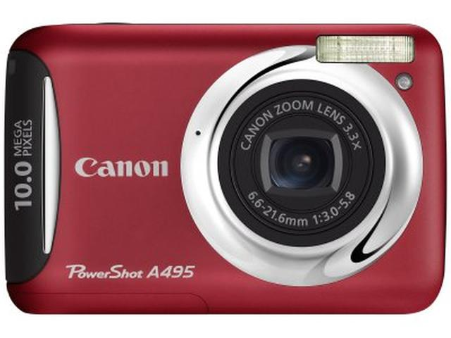 Canon PowerShot A495 i PowerShot A490 – inteligencja, prostota i zabawa