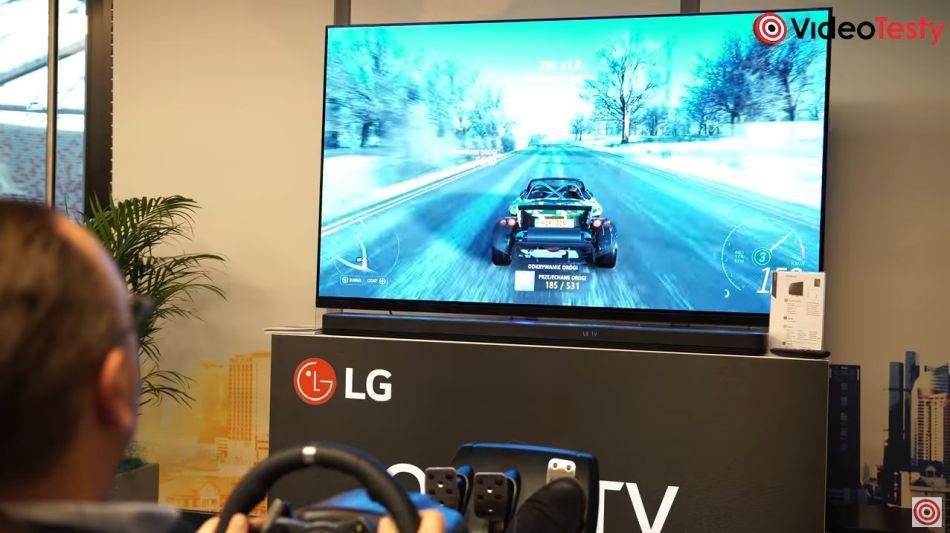 Granie na telewizorze LG OLED
