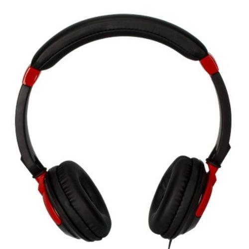 TDK Słuchawki z mikrofonem ST260S czerwone