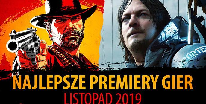 Najlepsze Premiery Gier Listopad 2019 - Death Stranding, Star Wars Jedi: Upadły Zakon, RDR 2