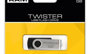 GoodRam Twister 8GB USB 2.0 Czarny