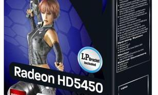 Sapphire Radeon HD5450 1GB GDDR5 (64 Bit) D-Sub, HDMI, DVI (11166-67-20G)