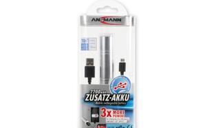 ANSMANN PowerBank 2200 - mobilna energia do smartfonów