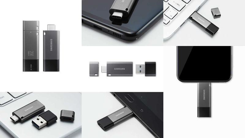 Pendrive Samsung DUO może działać i na komputerze i przy smartfonie