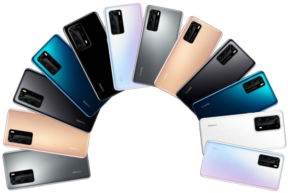 Seria Huawei P40 Pro pojawi się w wielu kolorach