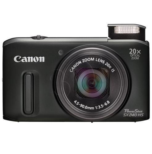 CANON PowerShot SX240 HS CZARNY