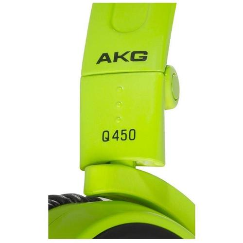 AKG Q460 Zielone Słuchawki zamknięte