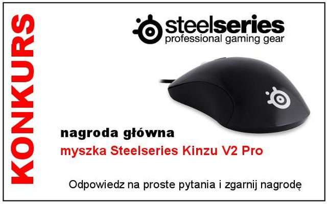 Konkurs SteelSeries - do wygrania myszka