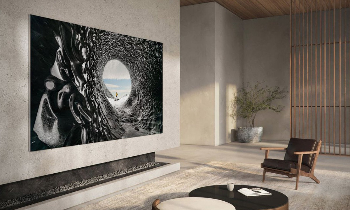Telewizor MicroLED z ekranem 110 cali to propozycja dla osób z dużym portfelem