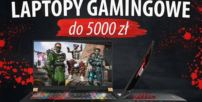 Laptopy gamingowe do 5000 zł |TOP 5|