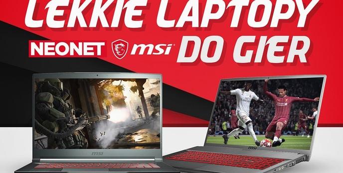 Świąteczne promocje na laptopy dla graczy w sklepie Neonet