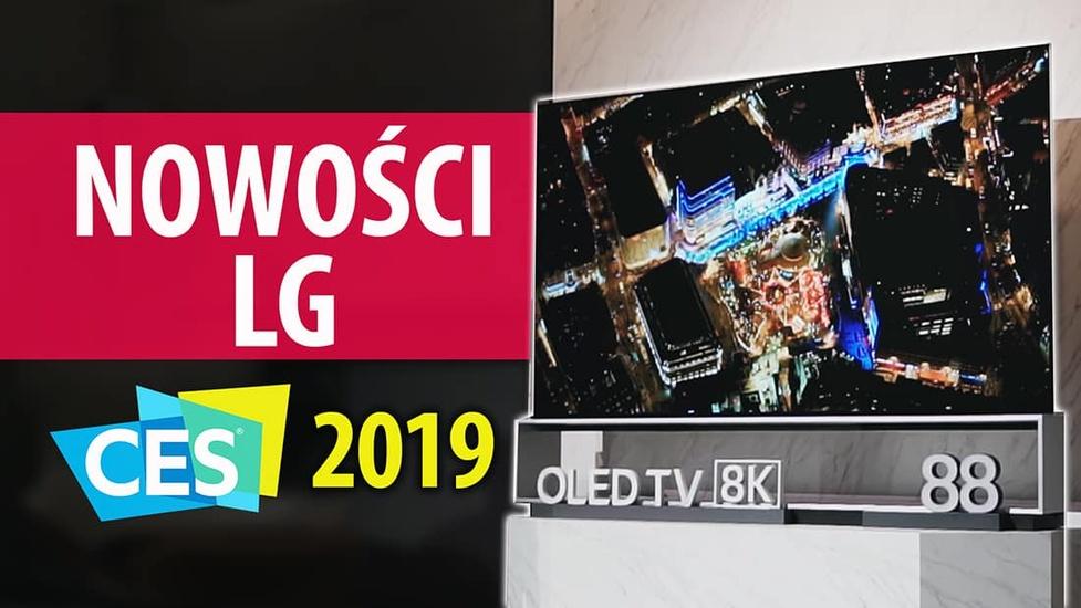 Nowości od LG na CES 2019