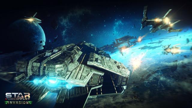 Inwazja rozpoczęta - zobaczcie darmową grę kosmiczną twórców War Thunder