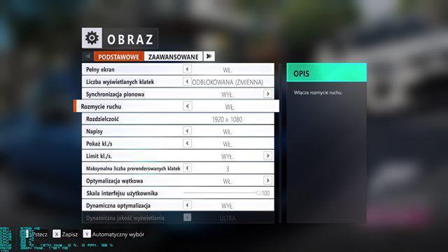 Asus Strix GTX 1050 Forza ustawienia
