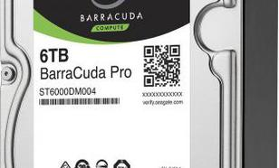 Seagate BarraCuda Pro 6TB 6Gb/s SATA (ST6000DM004)