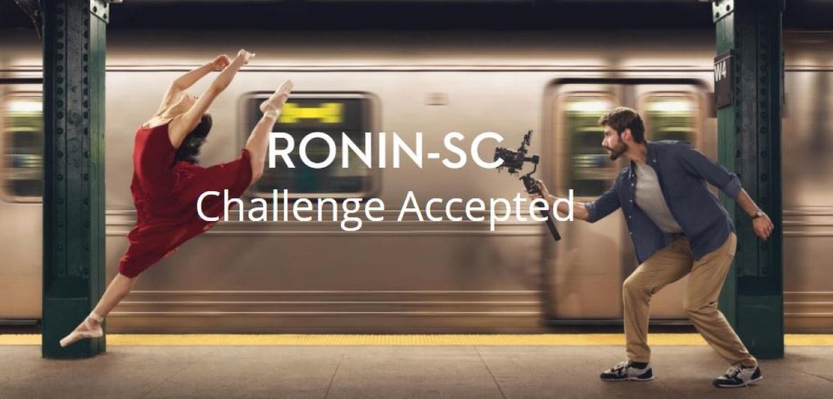 Wykorzystanie gimbala DJI Ronin-SC