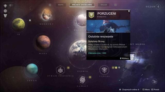 Destiny 2: Porzuceni - Nowa planeta Splątany Brzeg