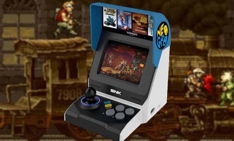 Neo  Geo Mini, czyli przenośny automat arcade