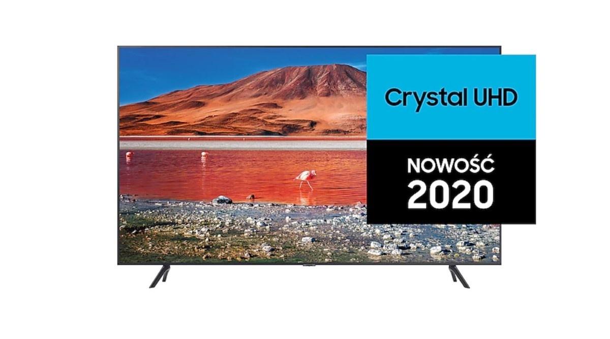 Telewizor Samsung CrystalUHD na 2020