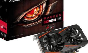 Gigabyte Radeon RX 460 WINDFORCE OC 4GB GDDR5 (128 Bit) HDMI, DVI, DP (GV-RX460WF2OC-4GD)
