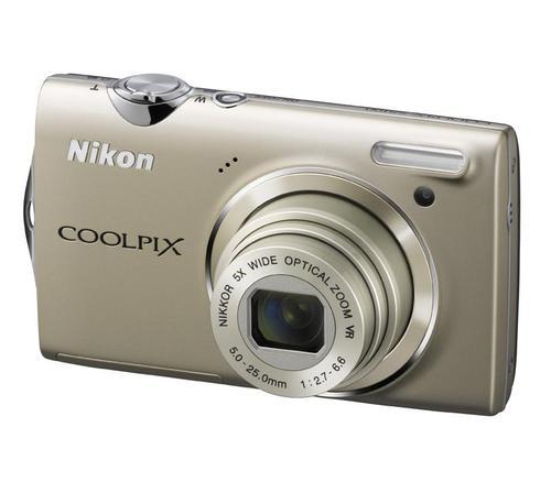 NIKON COOLPIX S5100 (SREBRNY)