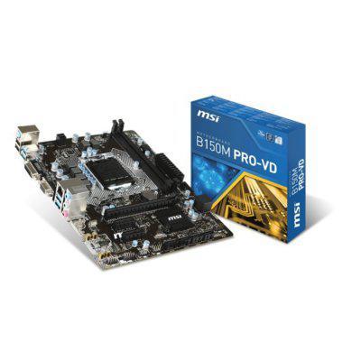 MSI B150M PRO-VD S1151 B150 2DDR4 PCIe 3.0 uATX