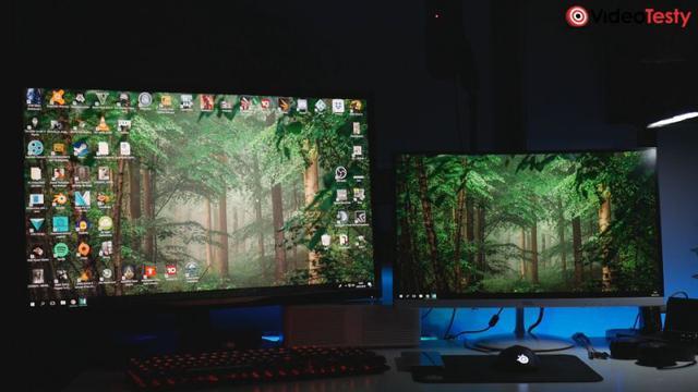 Porównanie monitorów