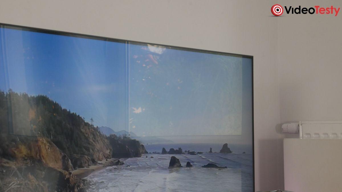 telewizor Samsung QE55Q80T ramka obudowy