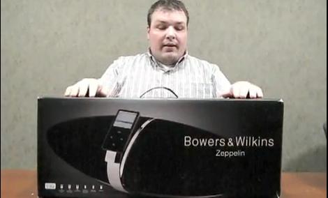 Bowers & Wilkins Zeppelin - unboxing produktu
