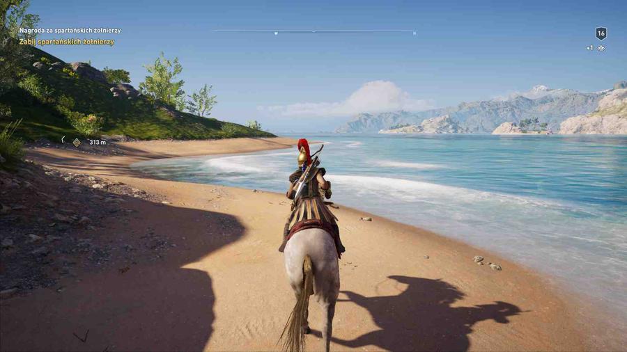Assassin's Creed Odyssey - Piękna plaża
