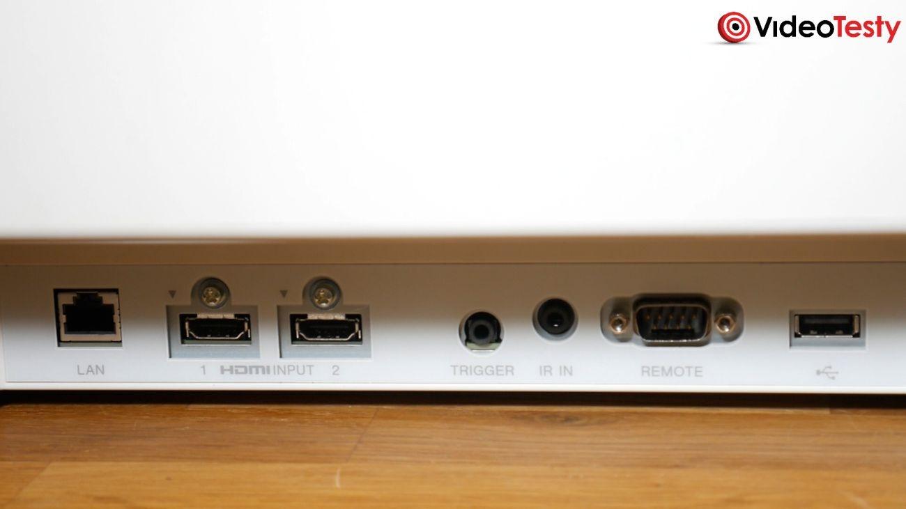 Projektor Sony VPL-VW290ES zestaw złączy