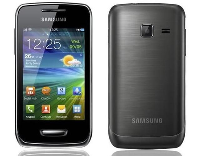 Samsung Wave Y - test telefonu