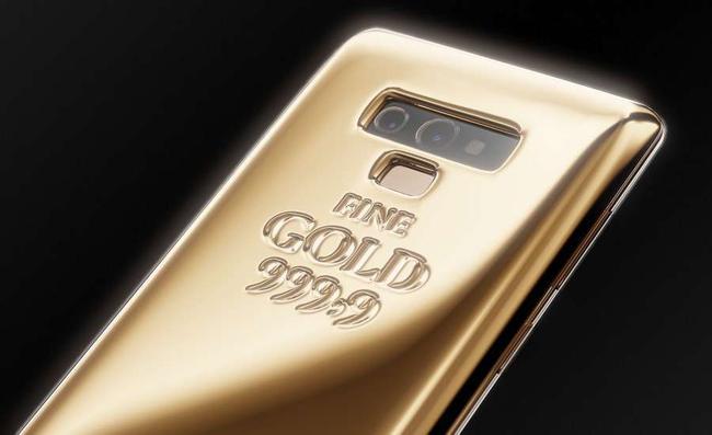 Złoty Samsung Galaxy Note 9