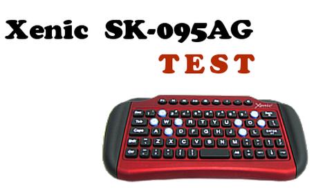 Xenic  SK-095AG test uniwersalnej klawiatury multimedialnej