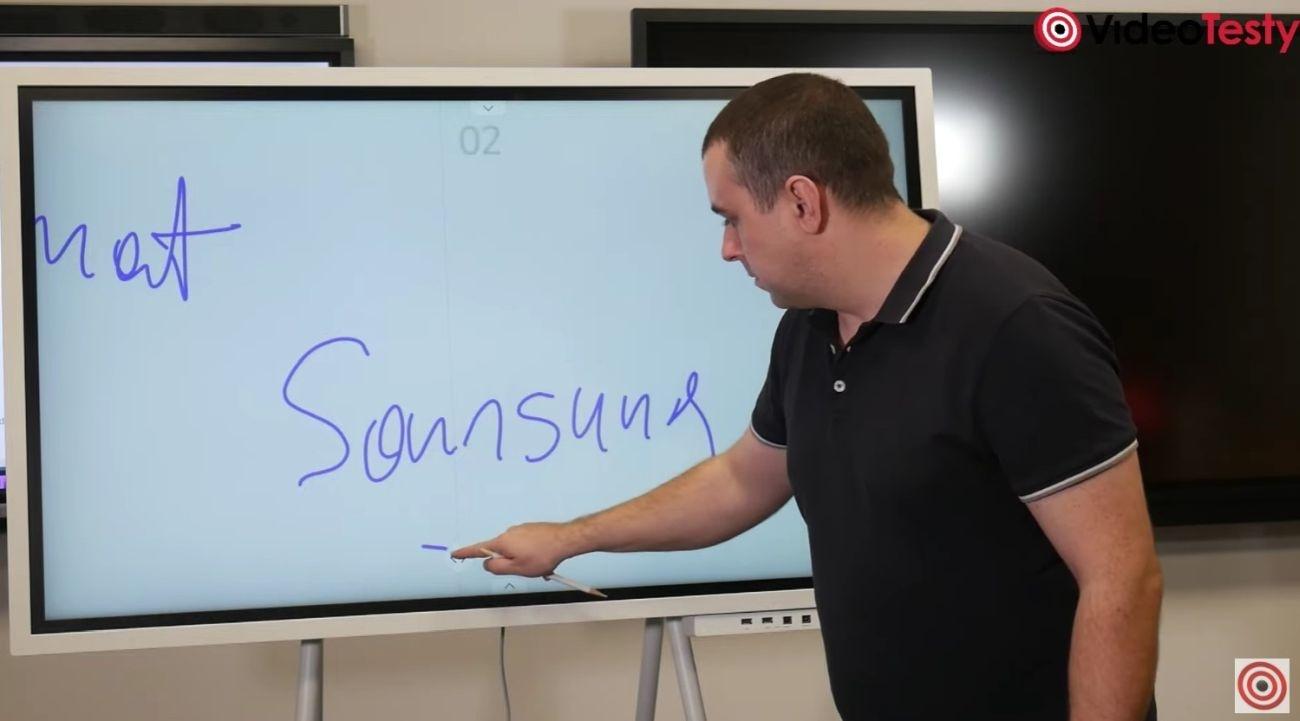 Rutynowa praca na ekranie Samsunga Flip 2
