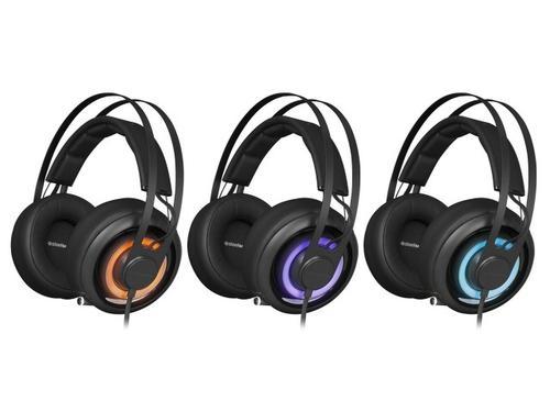SteelSeries Słuchawki z mikrofonem SIBERIA ELITE PRISM BLACK Gaming