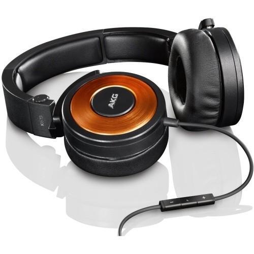 AKG K619 DJ Pomarańczowe Słuchawki DJ z mikrofonem