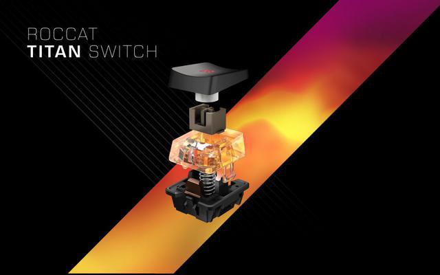 Nowe przełączniki ROCCAT Titan Switch Tactile.