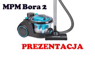 MPM Bora 2 Odkurzacz wodny [PREZENTACJA]
