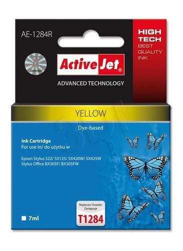 ActiveJet AE-1284R tusz żółty do drukarki Epson (zamiennik Epson T1284) Premium