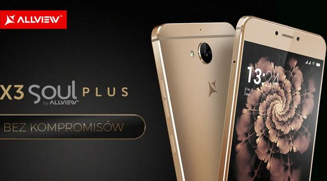 Allview X3 Soul Plus - Elegancki Smartfon Allview