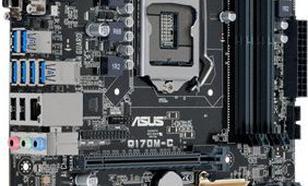 Asus Q170M-C, Q170, DDR4-2133, SATA3, DVI, D-Sub, DP, mATX (Q170M-C)