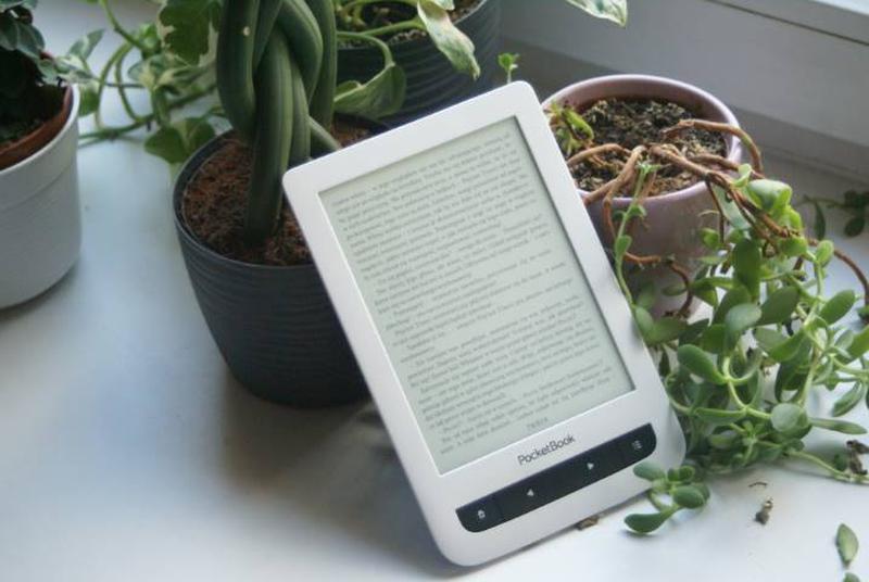 Czytniki e-booków mają ekrany z e-tuszem