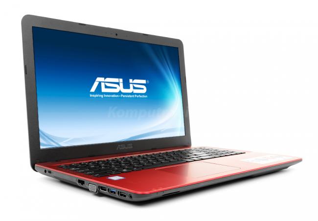 ASUS R541UA-DM1406 - Czerwony - 240GB SSD